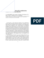 A.I. Alexandrov, N.R. Cozzarelli, V.F. Holmes, A.B. Khodursky, B.J. Peter, L. Postow, V. Rybenkov and A.V. Vologodskii- Mechanisms of separation of the complementary strands of DNA during replication