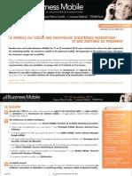Le mobile au coeur des nouvelles stratégies marketing et des moyens de paiement (communiqué de presse)