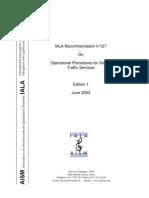 V-127 Operational Procedures for VTS