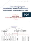 Piyasiri-Experience of Designing and Implementing the National Vocational
