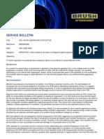 Service Bulletin 4D AVR FSC