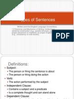 Sentences Lesson