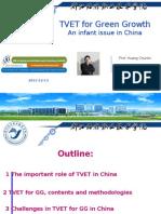 Huang Chunlin - TVET for Green Growth