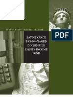 Eaton Vance Tax-Mgd Div Eq Inc Fund (ETY)