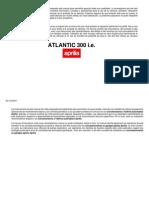 Manual de Instrucciones Aprilia Atlantic 300