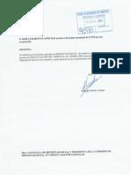 Instancia pidiendo informacion sobre la privatización de la gestión del Hospital