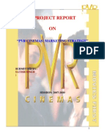 Pvr Cinemas Strategy