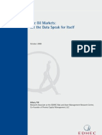 EDHEC Position Paper Oil Prices and Speculation