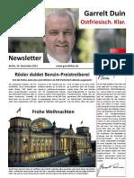 20111202 Newsletter Dezember II