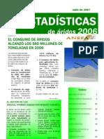 as Del 2006 Sobre Los Aridos Anefa