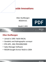 Topside Innovations, Ellen Stuifbergen, RESON