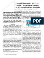 An Innovative Compact Saturable-Core HTS FCL - Development Testing & Application to Transmission Class Networks