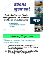 Topic 4 Supply Chain JIT Kanban Lean Students Handout