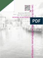 Les récits intéractifs et littératures numériques - Anna-Lou Bouvet