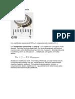Amplificador operacional - eletronica