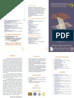 TRIPTICO GENERAL DEL EVENTO:IX CONFERENCIA DE LAS AMERICAS EN ECUACIONES DIFERENCIALES- TRUJILLO-PERU 2012