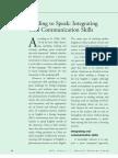 Reading to Speak