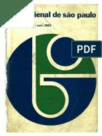 VIII Bienal de São Paulo  - parte 1 1965