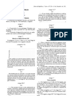 Portugal, New Arbitration Law, Lei da Arbitragem Voluntária, Lei n.º 63 2011