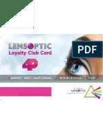 Loyalty Card Prepress Front