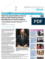 Israel May Launch Strike on Iran as Soon as Next Month.