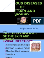 Infectious Diseases of the Skin and Wound