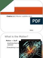 Unit 2 - Matter and Change