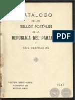 Catalogo de los Sellos Postales de la República del Paraguay y Sus Derivados - Correo Ordinario - PortalGuarani