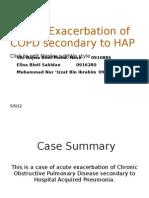 1st Presentation- COPD