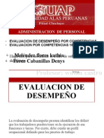 Expocision de Evaluacion Por Competenciassss