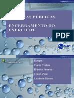 Apresentação- FINANÇAS PUBLICAS