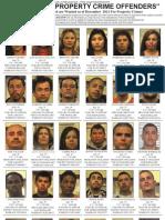 Property Crime Offenders - Dec. 2011