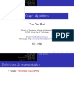 Talk Graph Algorithms