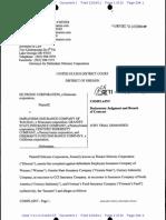 SILTRONIC CORPORATION v. EMPLOYERS INSURANCE COMPANY OF WAUSAU et al Complaint
