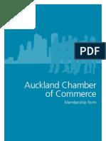 Auckland Chamber of Commerce Membership