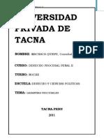 Derecho Procesal Penal Garantias Procesales