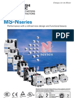 MS-N Contactor Catalogue December 2007