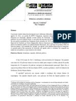 Editoriais, cidadania e a corrupção relato