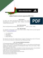 adidasfootball - Adventskalender DFB-Trikot