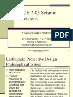 ASCE705.Seismic
