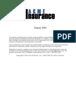 Acme Insurance, Inc.