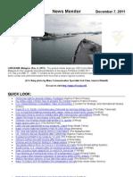 U.S. 7th Fleet News Monitor for December 7, 2011