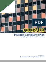 Colorado Strategic Compliance Plan