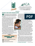 Financial Focus Newsletter - Spring 2011
