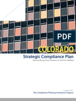 Colorado Strategic Compliance Plan FINAL