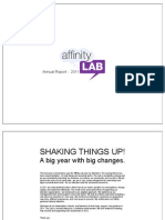 Affinity Lab Annual Report 2011