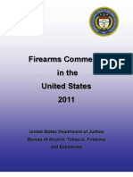 Firearms Commerce in the United States 2011