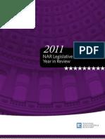 2011 NAR Legislative and Regulatory Year in Review