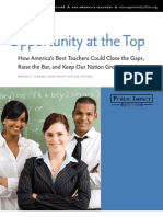 How America's Best Teachers Could Close the Gaps, Raise the Bar, and Keep Our Nation Great - Public Impact
