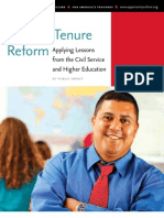 Teacher Tenure Reform